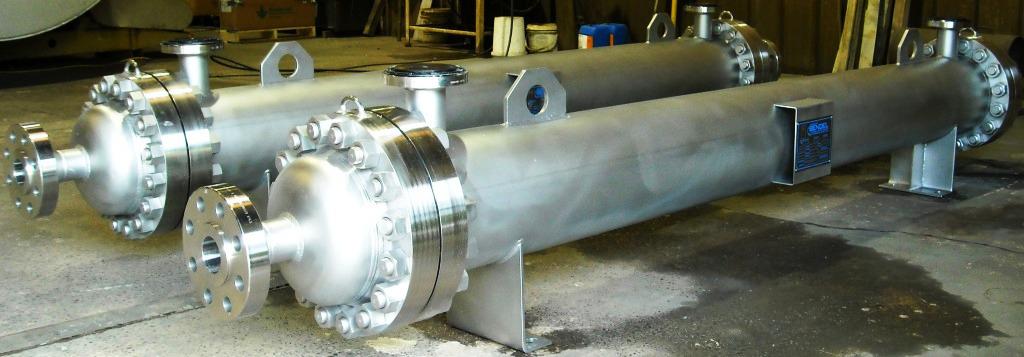 Nickel Alloy Custom Fabricated Heat Exchanger